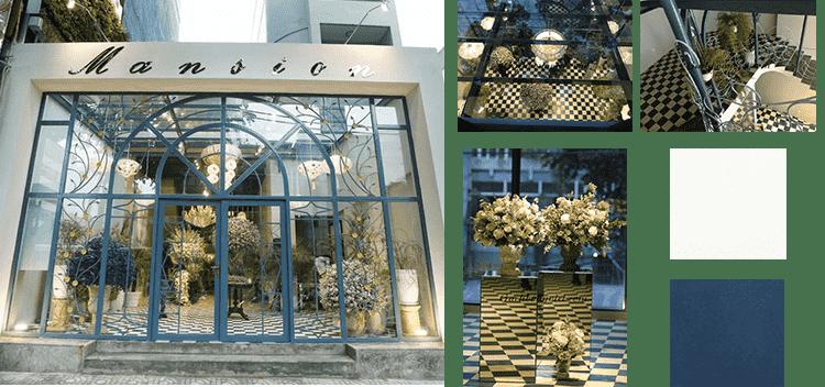 Shop hoa cao cấp Mansion