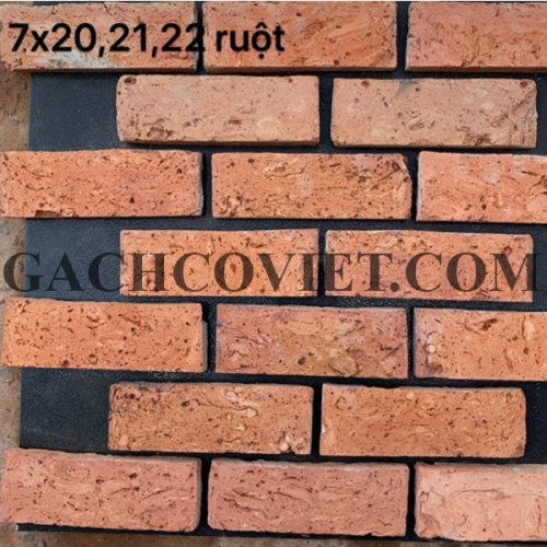 Gạch cổ cắt 4 ruột, Sài Gòn  7x21